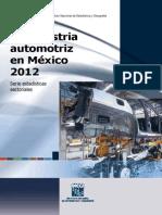Industria Automotriz Inegi 2012