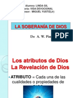 La Soberania de Dios