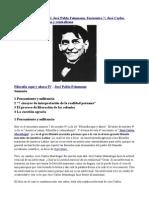 Filosofía aquí y ahora IV. José Pablo Feinmann. Encuentro 7 José Carlos Mariátegui regionalismo y centralismo