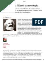Marx e a Educaçao