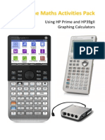 Maths Lesson Pack Hp Prime and Hp39gii