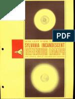 Sylvania Incandescent Reflector Lamps Brochure 1963