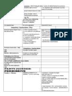 Joinder Checklist