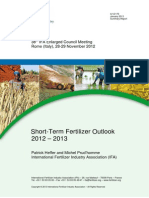 2012 Council Rome Ifa Summary