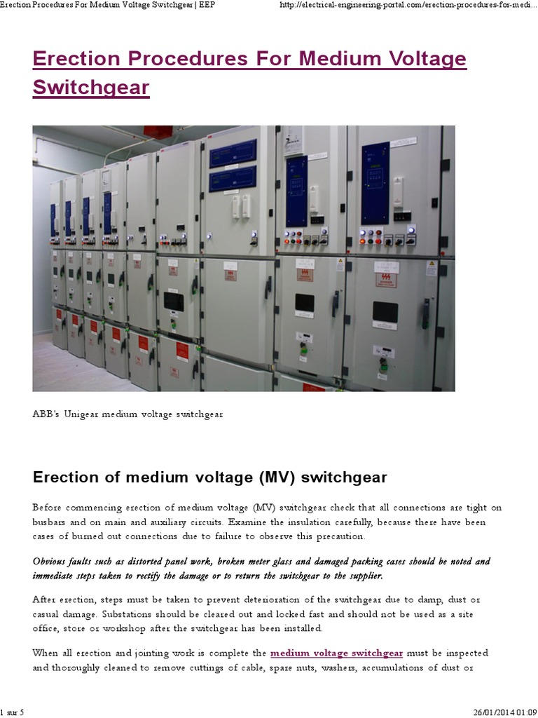Medium Voltage Mv Circuit Breakers Cb Apparatus Abb