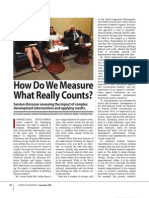 How Do We Measure What Really Counts_MD_Sept09