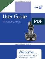 BT Freelance XD510 User Guide