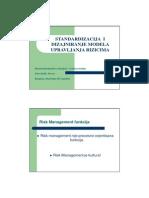 Standardizacija i Dizajniranje Modela Upravljanja Rizicima Amir Softic