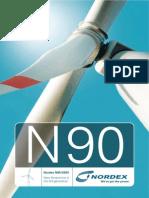 Energia Eolica Nordex N90 2500 En