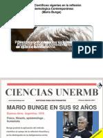 Mario Bunge Breve Presentacion Epistemologia