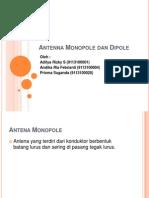 Antenna Monopole Dan Dipole