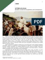 169 primer discurso en la montaña La mision de los apostoles y los discipulos