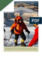 TA's Everest 2010 Sponsorship Invite