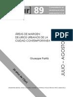 Areas Margen Ciudad Contemporanea Cuaderno89 CIUR