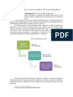 Análisis sobre los artículos 202 Bis y 202 Ter del Código Penal