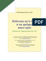 Keynes Reflexion Franc