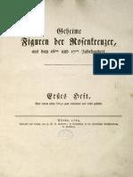Geheime Figuren der Rosenkreuzer, aus dem 16ten und 17ten Jahrhundert - Heft 1 - PDF 32 S..pdf