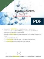 Conductividad QMC 301- Problemas Resueltos