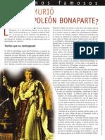 ¿De qué murió Napoleón Bonaparte?