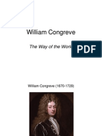 William Congreve - the rape of the lock