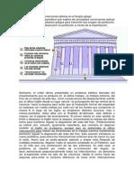Correcciones ópticas en el templo griego