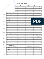 Bring Him Home Orch Score from Les Miserables for voice and orchestra (original key)