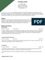 Resume Export
