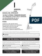 Ryobi Trimmer Manual