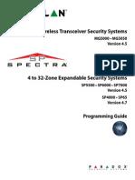 Paradox Magelan Spectra - Programming Guide