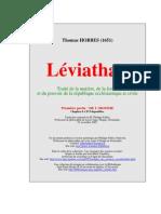 Léviathan 1re partie L'Homme