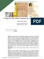 Mauro Souza Ventura_ O lugar de Otto Maria Carpeaux no campo da crítica- nº 47 Espéculo (UCM)