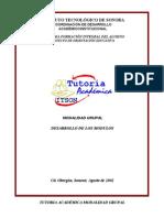Programa de Tutoria Grupal