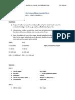 UPDATE - Chem Reaction Rates Lab-2