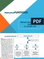 Macro Funtion s