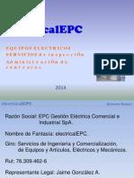 Presentacion electricalEPC