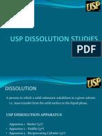 Usp Dissolution Studies