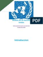 Como Prepararse Para Modelo de Naciones Unidas.