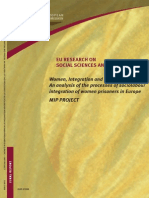 Union Europea - Women, Integration and Prison