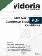 Caderno Ouvidoria - Parte Integrante da Revista Cliente SA edição62 - Julho07
