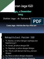 Lapjag IGD Astri & Ayu (1!12!13)DHF