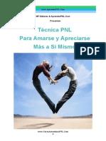 Tecnica PNL Para Amarse Más a Si Mismo!- Curso Autoestima PNL