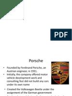 Porsche Intro
