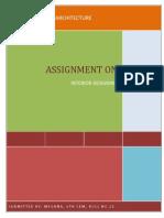 Interior Assignment