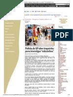Rolezinho_ shopping é espaço público ou privado_ - Para Entender Direito
