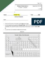 Midterm I Chem 2321-003 F '13 Key A
