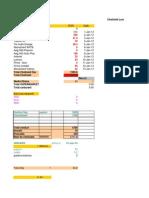 Liviu Pasat - Buget Anual 2014
