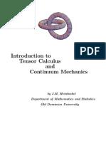Introduction to Tensor Calculus and Continuum Mechanics - Heinbockel [eBook, Mathematics]