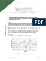 Penyelesaian Soal UAS Matematika Teknik 20130114
