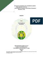 Analisis Dampak Dan Faktor Yang Mempengaruhi Perambahan Hutan (Studi Kasus Desa Bulu Hadik, Kec. Teluk Dalam, Kab. Simeulue, NAD) - Skripsi USU