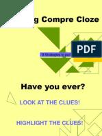Tackling Compre Cloze (Part 1)